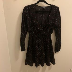 Express Polkadot Dress